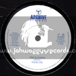 "Archive Recordings-10""-Free Blackman / Rising Fire"