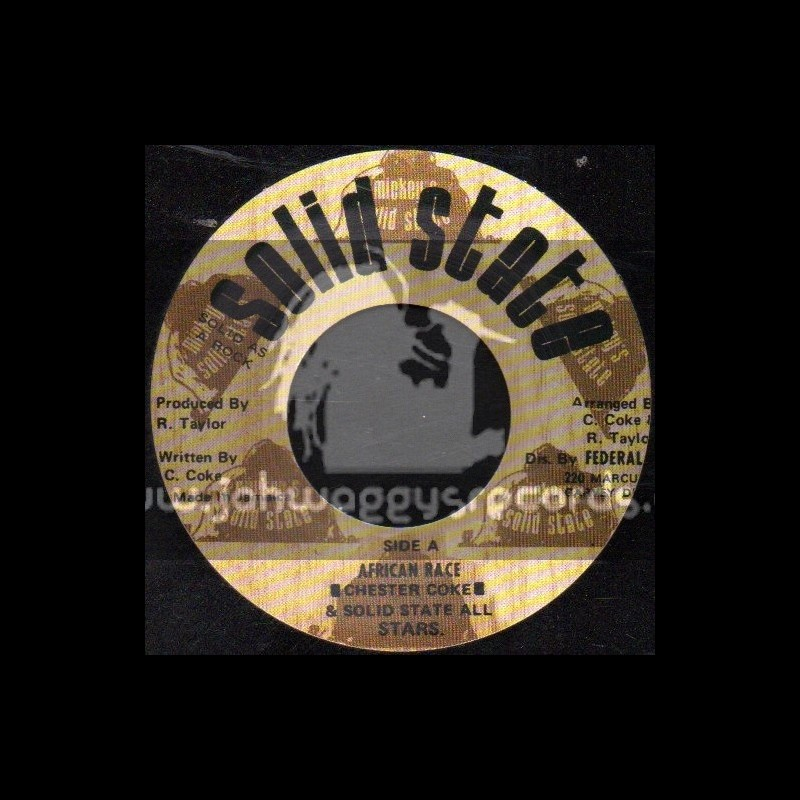 """Solid State-7""""-African Race / Chester Coke"""