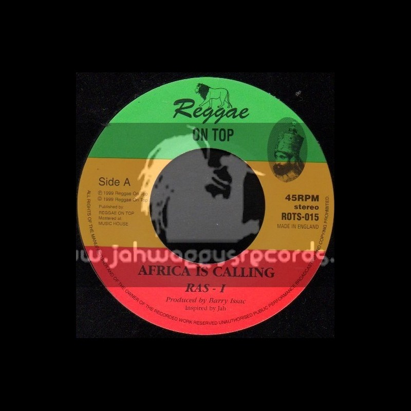 "Reggae On Top-7""-Africa Is Calling / Ras I"