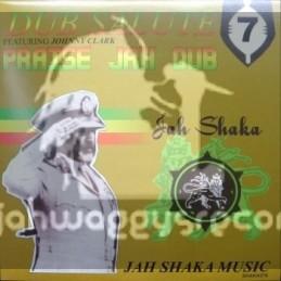 Jah Shaka Music-LP-Praise Jah Dub Featuring Johnny Clarke-Dub Salute Vol 7