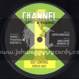"""Channel 1-10""""-Self Control & Join Me / Patrick Andy"""