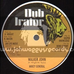 "Dub Irator-12""-Walker John + Singer With The Flavor / Mikey General"