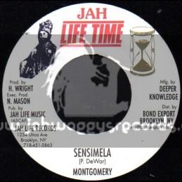"Jah Life Time-7""-Sensimela / Montgomery"