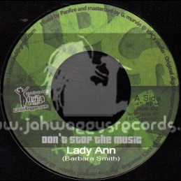 "Livity Reggae-7""-Dont Stop The Music / Lady Ann"