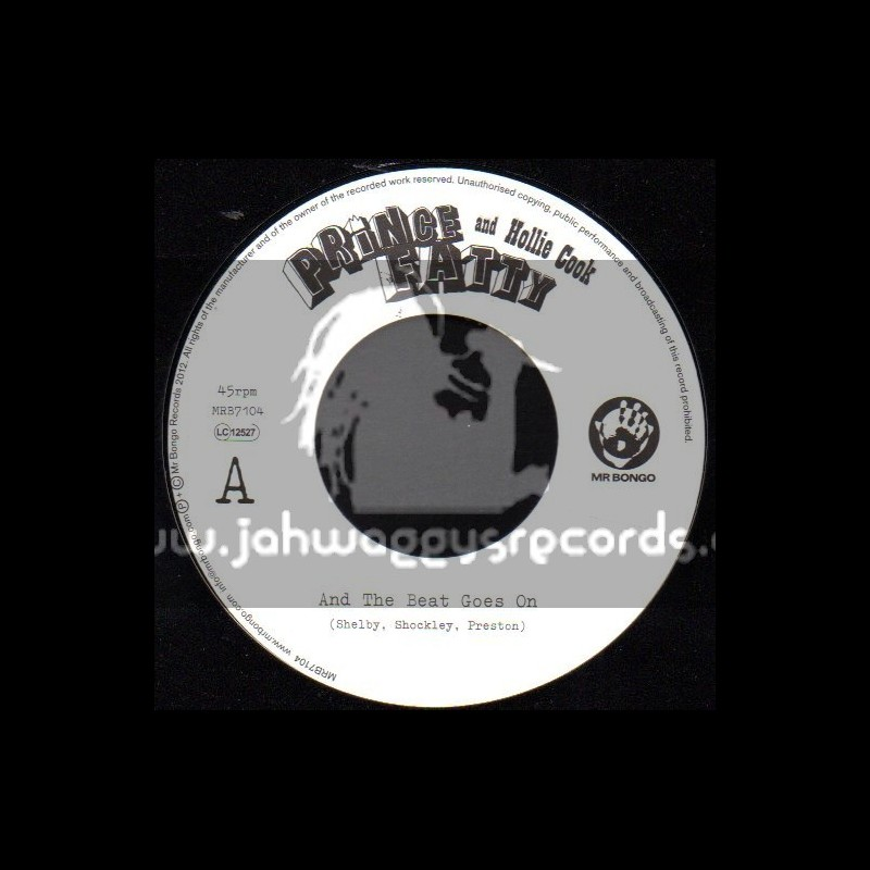 """Prince Fatty & Hollie Hook-7""""-And The Beat Goes On"""