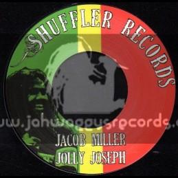 "Shuffler Records-7""-Jolly Joseph / Jacob Miller"