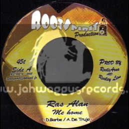 "Roots Spirit Production-7""-Me Home / Ras Alan"