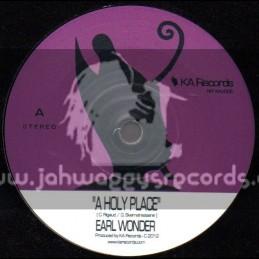"KA Records-7""-A Holy Place / Earl Wonder"