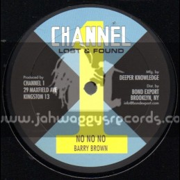 "Channel 1-10""-No No No / Barry Brown"