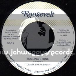 """Roosevelt-7""""-Rolling Stone / Tommy Sheakspear"""