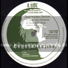 """CounterAction-10""""-Babylon Illusions/CounterAction Warriors + Marching To Zion / Jah Mystic"""