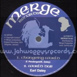 "Merge Productions-10""-Changing World + Reggae Sound / Earl Sixteen"