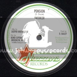 """Narrows Records-10""""-Pension + Africa Way / Enforcer"""