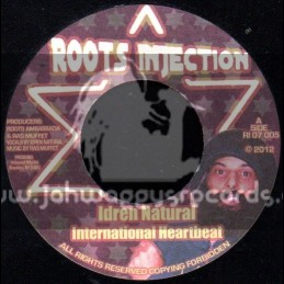 "Roots Injection-7""-International Heartbeat / Idren Natural"