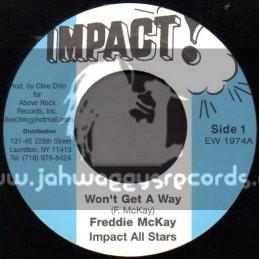 """Impact-7""""-Wont Get Away / Freddie McKay"""