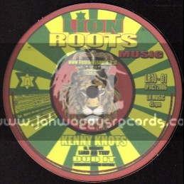 "Lion roots music-10""-Laid An Teef / Kenny Knots + Why / Jah Marnyah (Vibronics)"