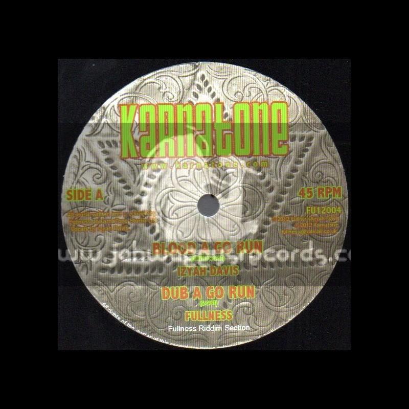 "Karnatone-12""-Blood A Go Run / Izyah Davis + Bad Mind / Bunnington Judah"