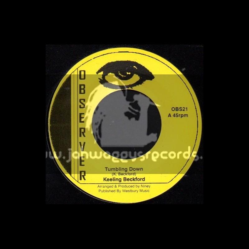 "Observer-7""-Tumbling Down + Silver Words / Keeling Beckford"