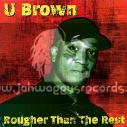 Jah Warrior Records-LP-Rougher Than The Rest / U Roy