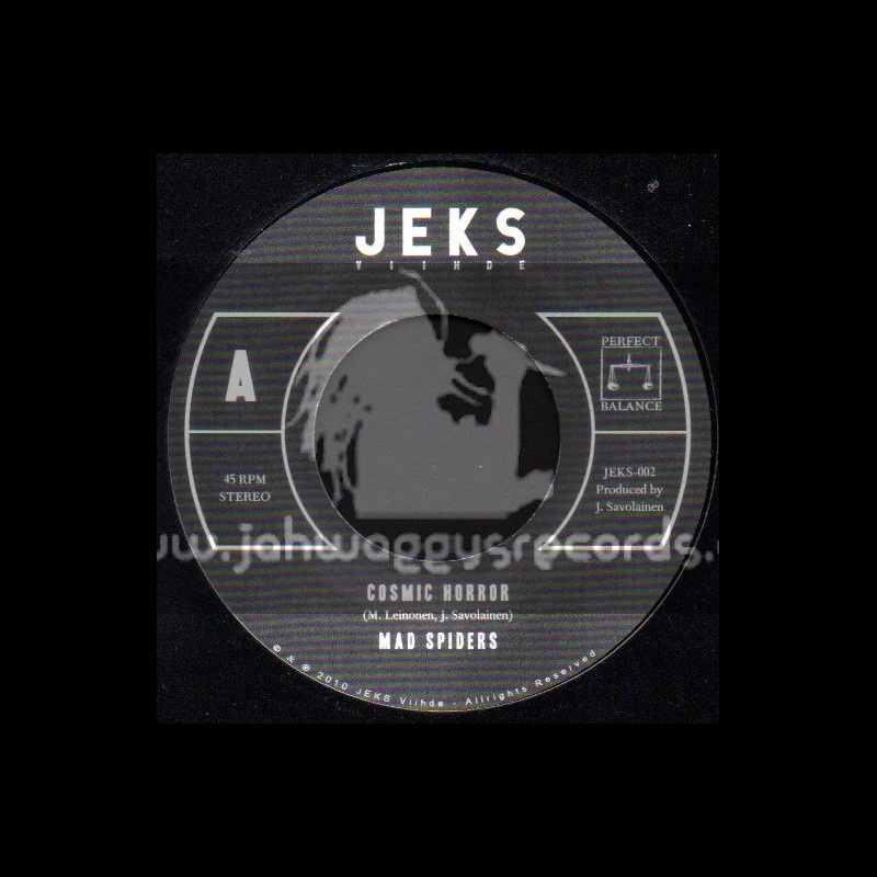 """Jeks-7""""-Cosmic Horror + P M A / Mad Spiders"""