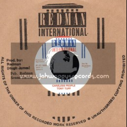 "Redman international-7""-Careless People / Tony Tuff"