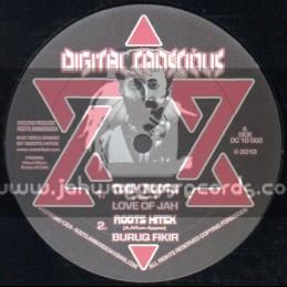 "Digital Concious-10""-Love Of Jah / Tony Roots + Empress Iyahbinghi / Roots HiTek"