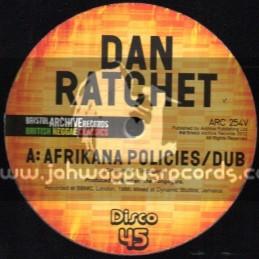 "Bristol Archive Records-12""-Afrikana Policies / Dan Ratchet (Limited Edition)"
