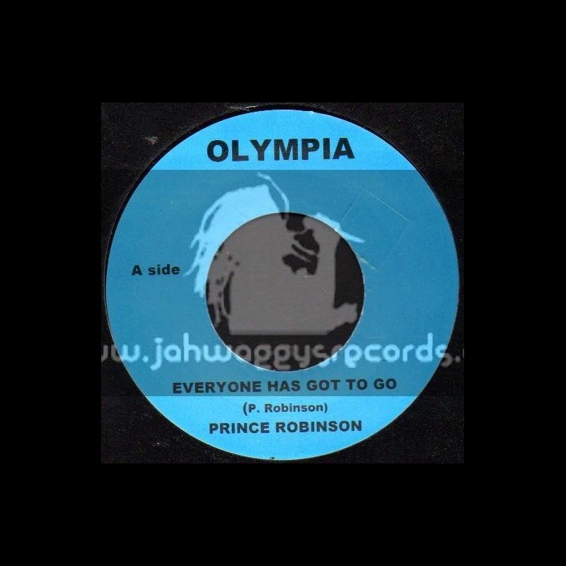 "Olympia-7""-Everyone Has Got To Go / Prince Robinson"