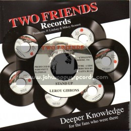 """Two Friends Records-7""""-Stand Up / Leroy Gibbons"""