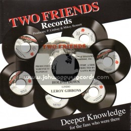 """Two Friends Records-7""""-Hold It Down / Leroy Gibbons"""