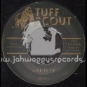 """Tuff Scout-7""""-Live It Up / Moses"""