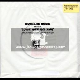 """Rockers Mood 3x7""""-Come Mek We Run / Hughie Izachaar (Limited Collectors Edition)"""