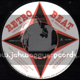 """Retro Beat-7""""-Jah Is My Salvation / Peter Roots Lewis"""