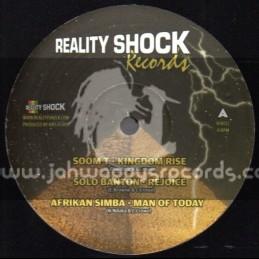 "Reality Shock Records-12""-Feat. Soom T-Solo Banton-African Simba-Aqua Levi & Deadly Hunta"