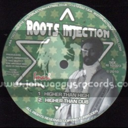 """Roots Injection-10""""-Higher Than High / Imari + Words Of Messiah / Prince Jamo"""