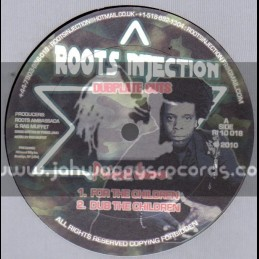 """Roots Injection-10""""-For The Children / Prince Jamo"""