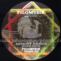 "Filomuzik Records-12""-Wicked Poeple / Anthony Johnson"