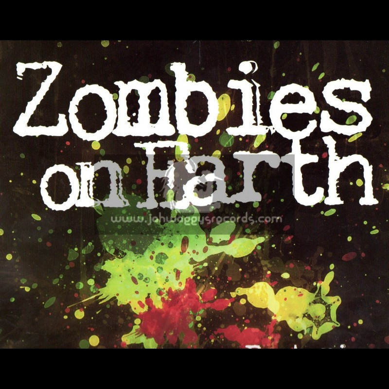 King Earthquake-LP-Zombies On Earth / Gussie Ranks