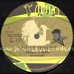 "Livity Reggae-12""-Strictly Sensi / Sugar Minott + Chaplin / Trevor Junior"