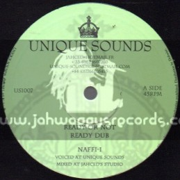 "Unique Sounds-10""-Ready Or Not + Glorify / Naffi-I"