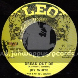 "Leo Records-7""-Dread Out De / Joy White"