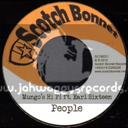 "Scotch Bonnet-7""-Poeple / Earl Sixteen + Poze Up / Wild Life"