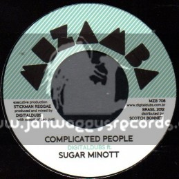 "Muzama Records-7""-Complicated People / Sugar Minott"