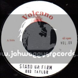 """Volcano-7""""-Stand Up Firm / Rod Taylor"""