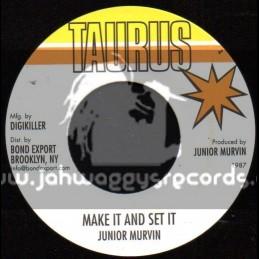 "Taurus-7""-Make It And Set It / Junior Murvin"