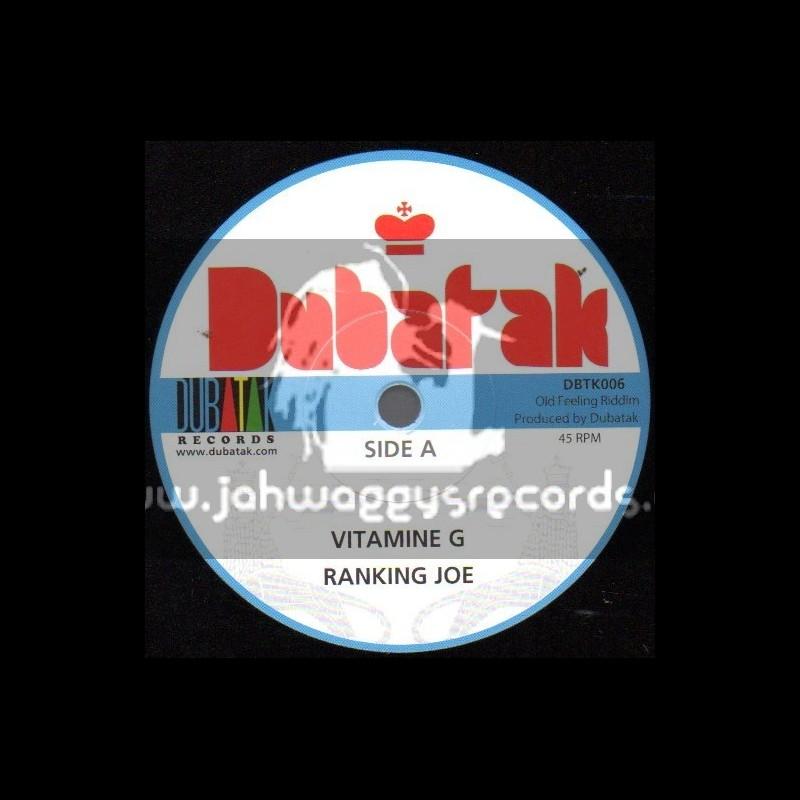 "Dubatak Records-7""-Vitamine G / Ranking Joe"
