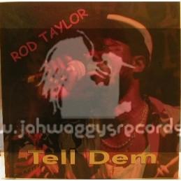 Word Sound & Power-LP-Tell Dem / Rod Taylor