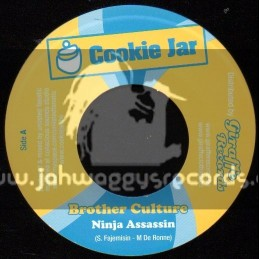 "Cookie Jar-7""-Ninja Assassin / Brother Culture"