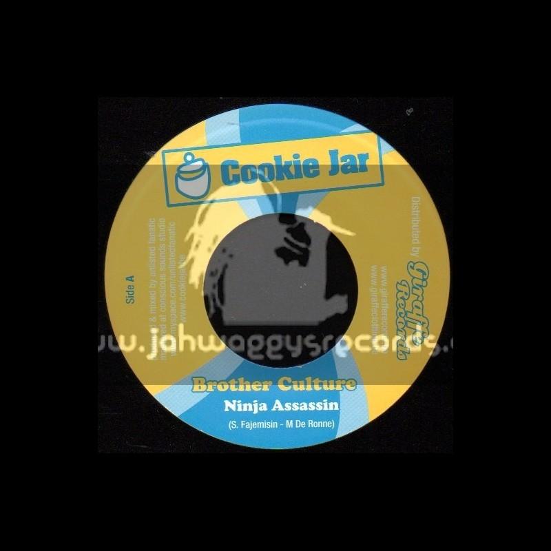 "Cookie Jar-7""-Ninja Assassin / Brother Culture"