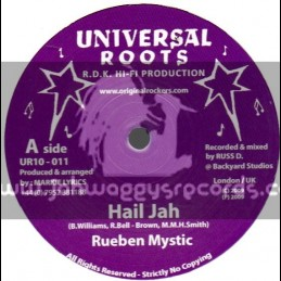 "Universal Roots-10""-Hail Jah / Rueben Mystic"